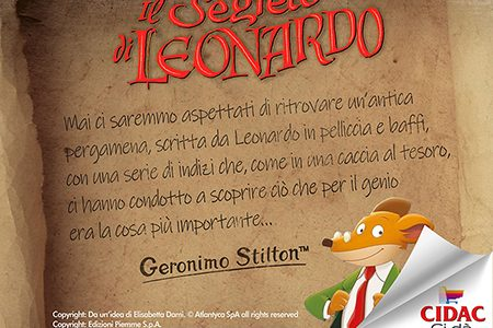 Geronimo Stilton in Cidac per Leonardo