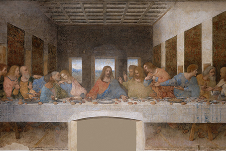 Ultima cena di Leonardo Blogzine Cidac groscidac.eu/blog