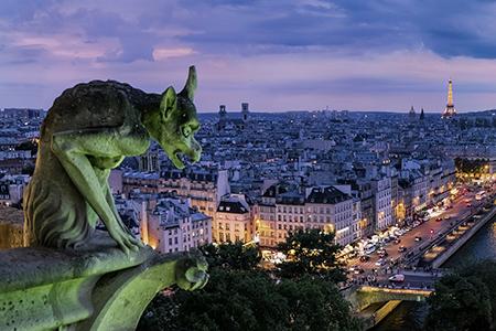 Scorcio di Parigi Blogzine Cidac groscidac.eu/blog